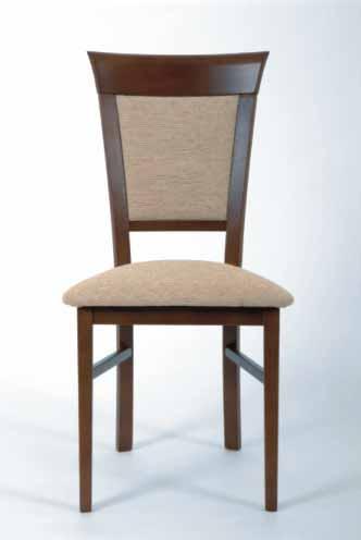 Black Red White KENT, židle, KENT SMALL, kaštan