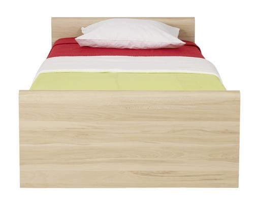 Black Red White INDI, dětský pokoj, postel LOZ/90, buk tatra