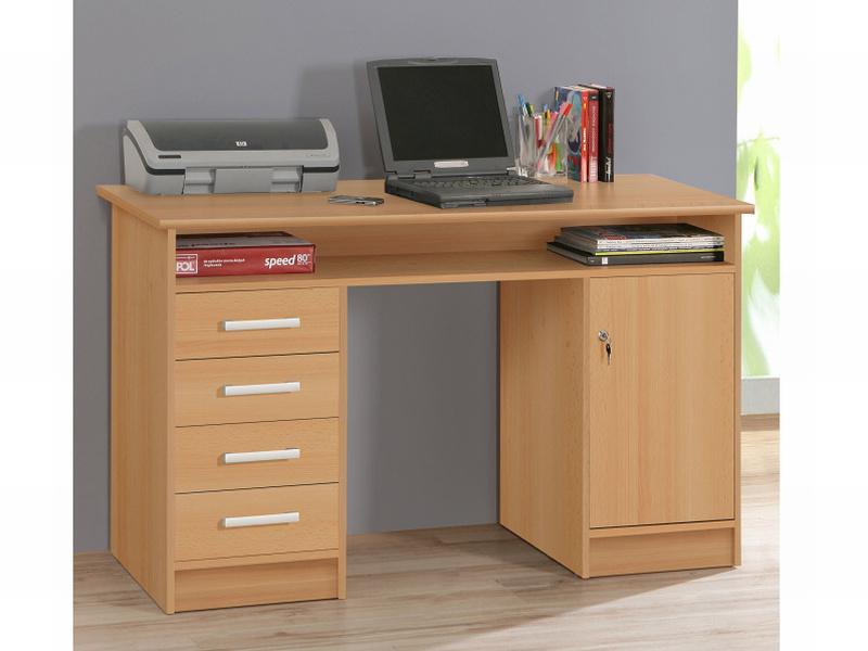 FORTE NET106, psací stůl MT931, buk samerberg