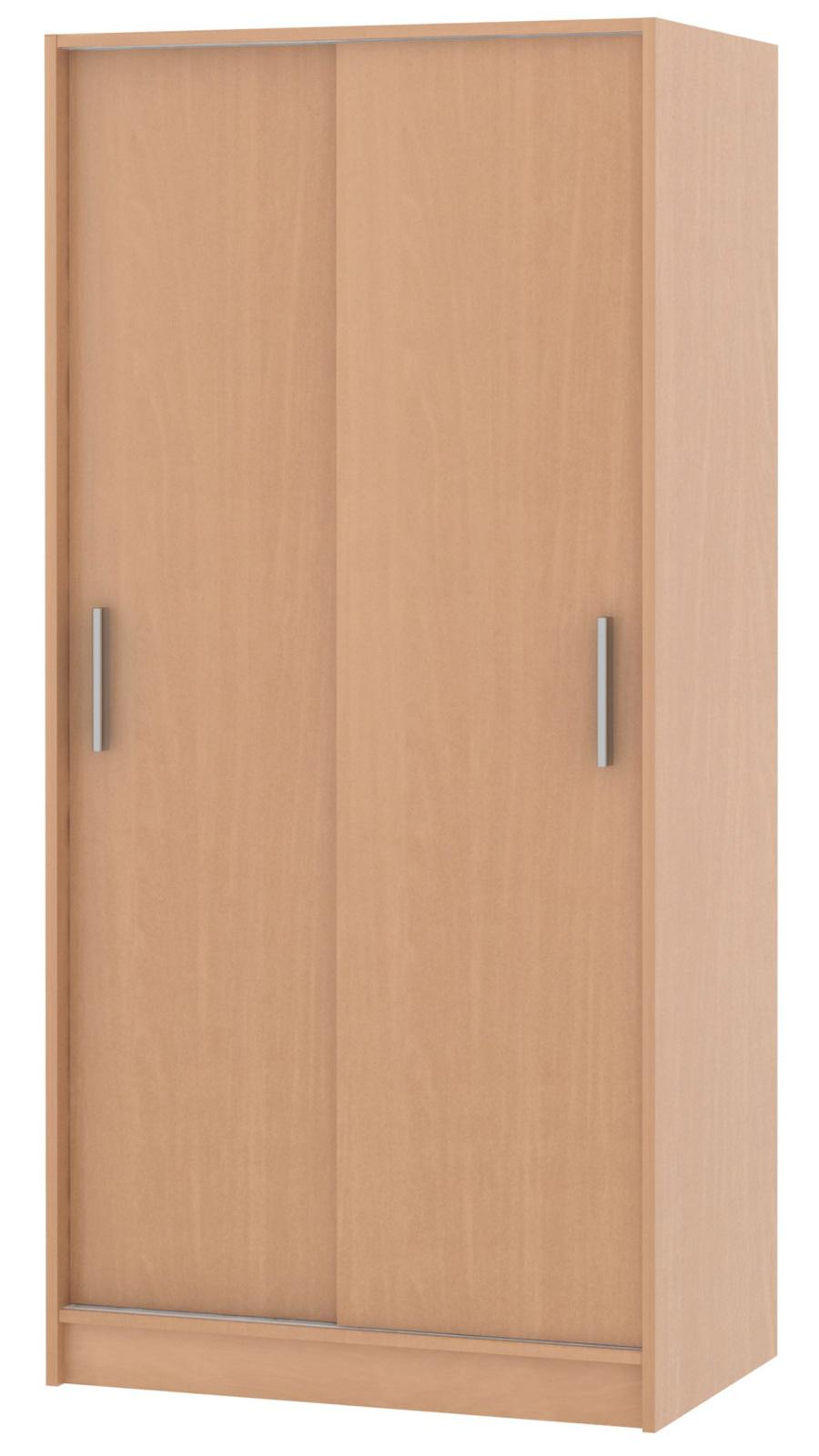 MB Domus Skříň s posuvnými dveřmi SMART 01, buk