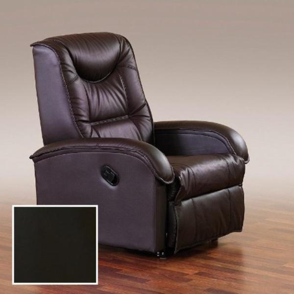 Halmar Relaxační křeslo JEFF, černá