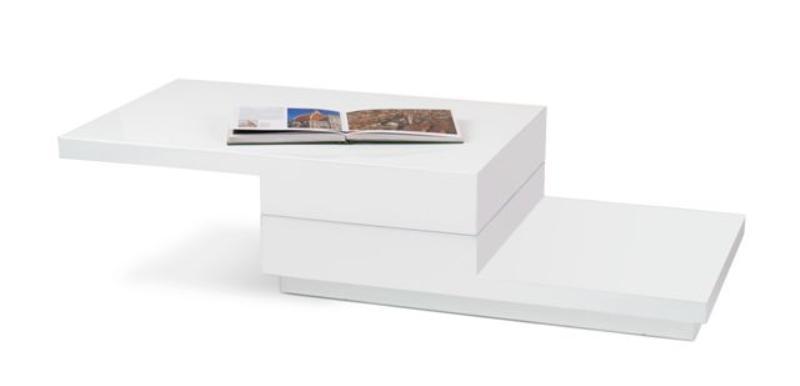 Halmar Konferenční stolek MONTANA, bílá
