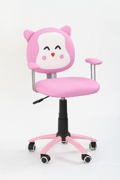 Halmar Dětská židle KITTY, růžová