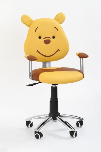 Halmar Dětská židle KUBUS, hnědá