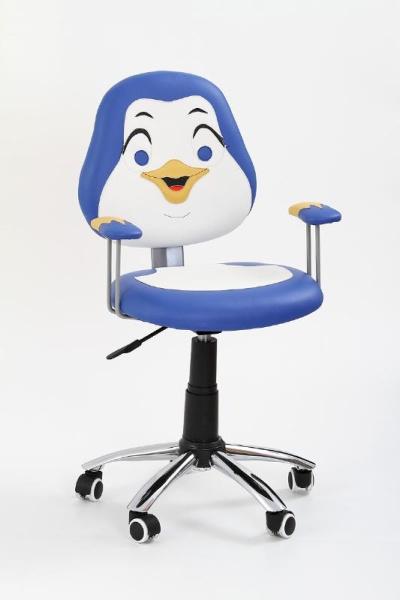 Halmar Dětská židle PINGUIN, modrá