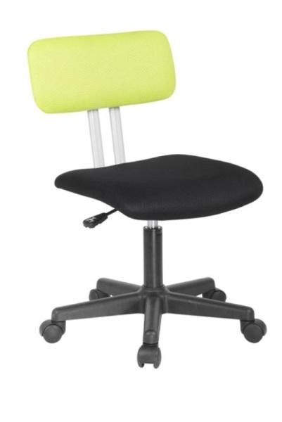 Halmar Dětská židle PLAY, černá/zelená