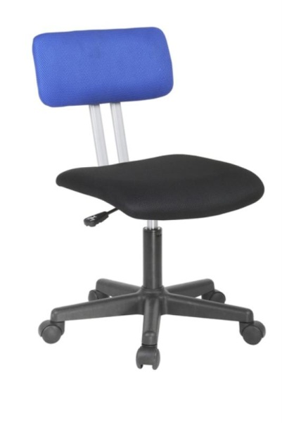 Halmar Dětská židle PLAY, černá/modrá
