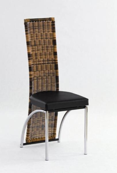 Halmar Židle K80, černá