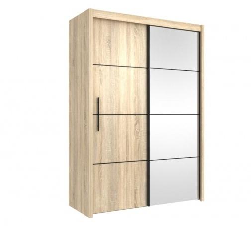 Orfa Šatní skříň s posuvnými dveřmi INOVA 150 dub sonoma