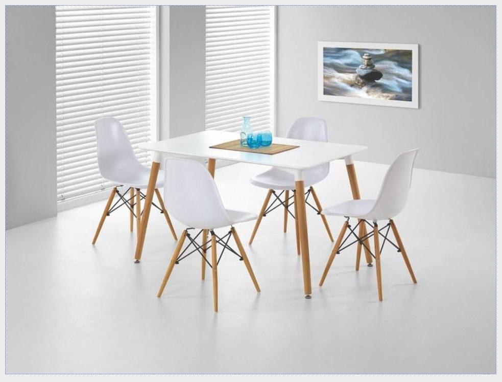 Halmar Jídelní stůl SOCRATES, bílý