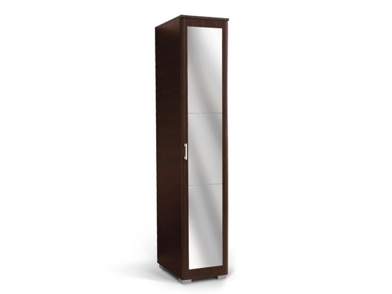 MATIS MILANO, skříň 1K1P se zrcadlem, wenge