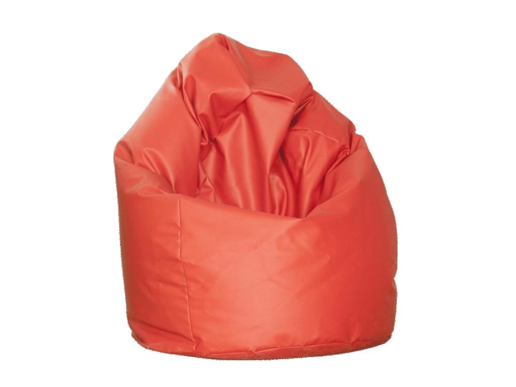 Tempo Kondela BAG, vak na sezení, červená ekokůže D-12