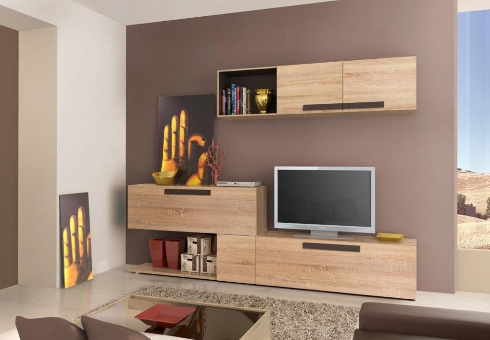 Forte LATIS, obývací stěna, dub sonoma