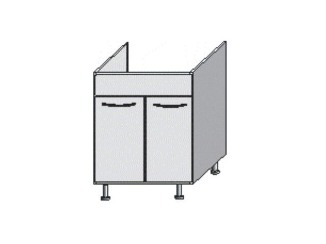 Tempo Kondela Kuchyňská skříňka dřezová, rigoleto light/dark, JURA NEW IA DZ-80