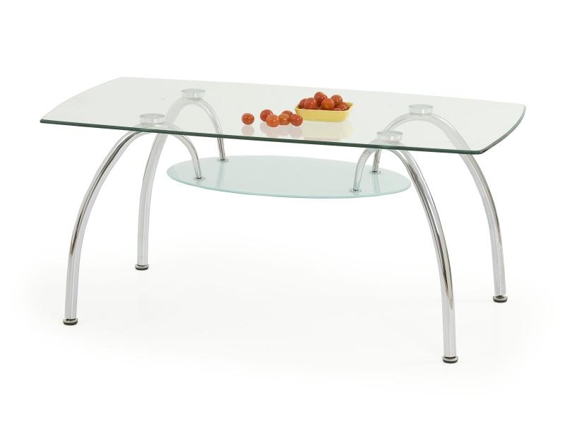 Halmar Konferenční stolek AUSTIN, kov/sklo