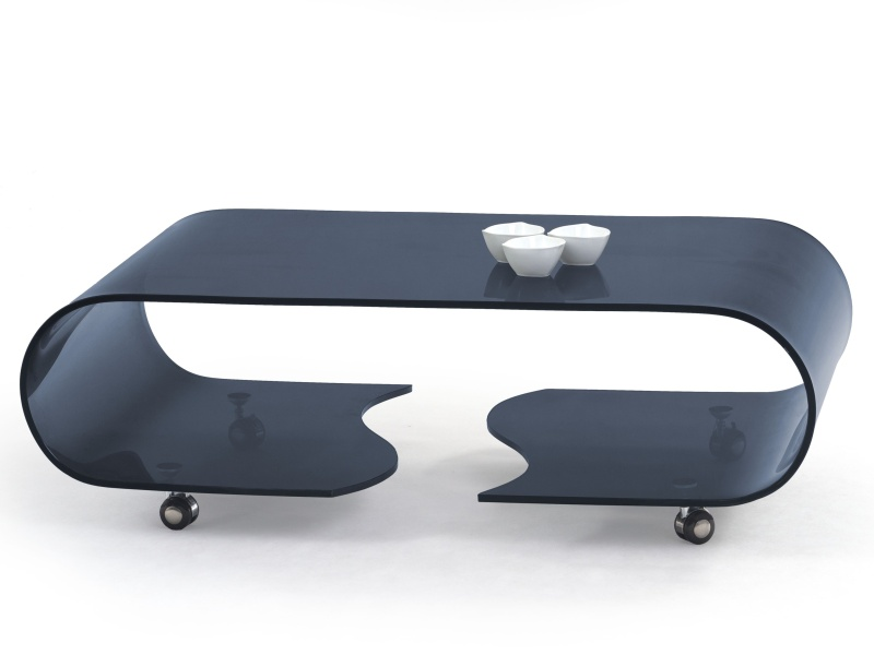 Halmar Konferenční stolek PENELOPE, grafit