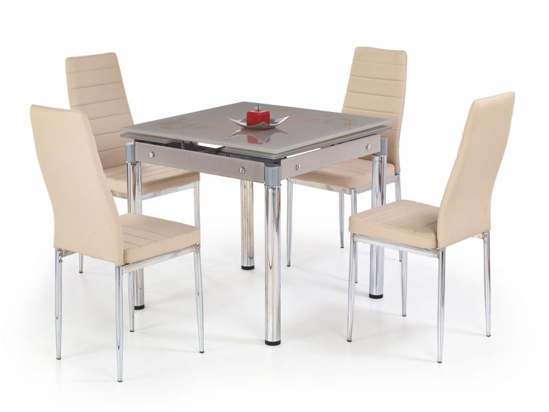 Halmar Jídelní stůl rozkládací KENT, béžový