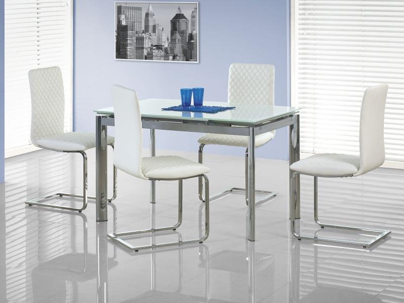 Halmar Jídelní stůl rozkládací LAMBERT, bílý