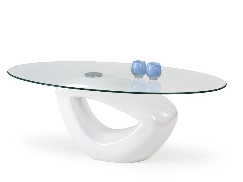 Halmar Konferenční stolek JASMIN, bílý
