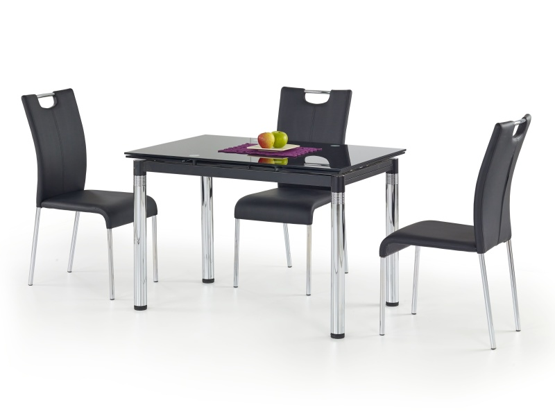 Halmar Jídelní stůl rozkládací L31, černý