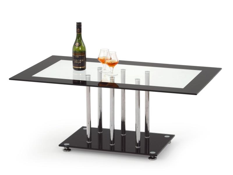 Halmar Konferenční stolek HARRIET, kov/sklo