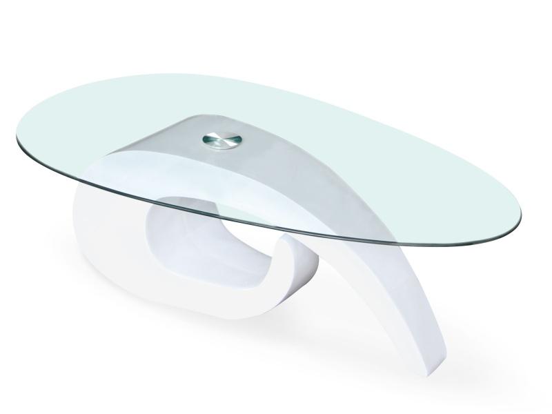 Halmar Konferenční stolek GERDA, bílý