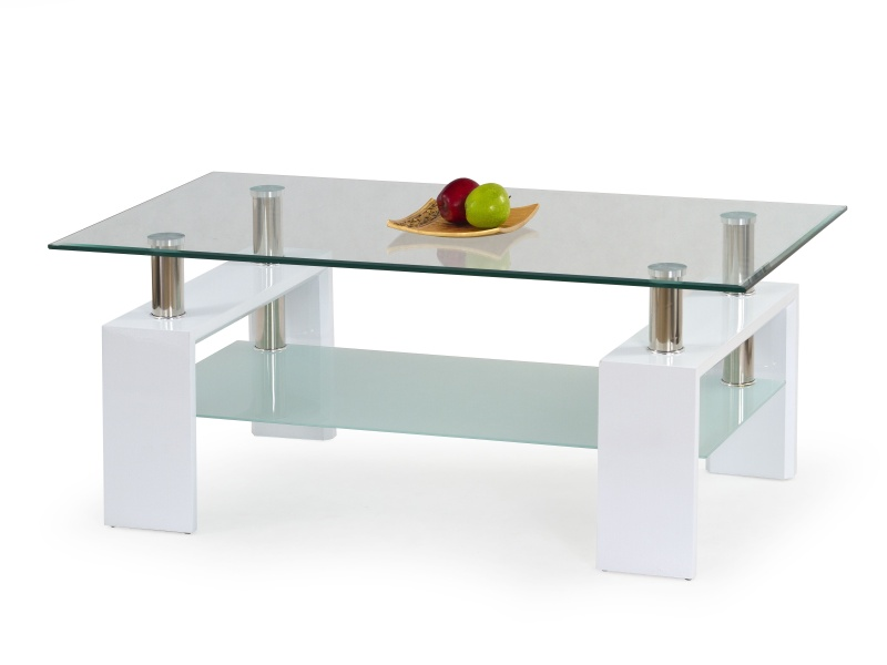Halmar Konferenční stolek DIANA, bílý