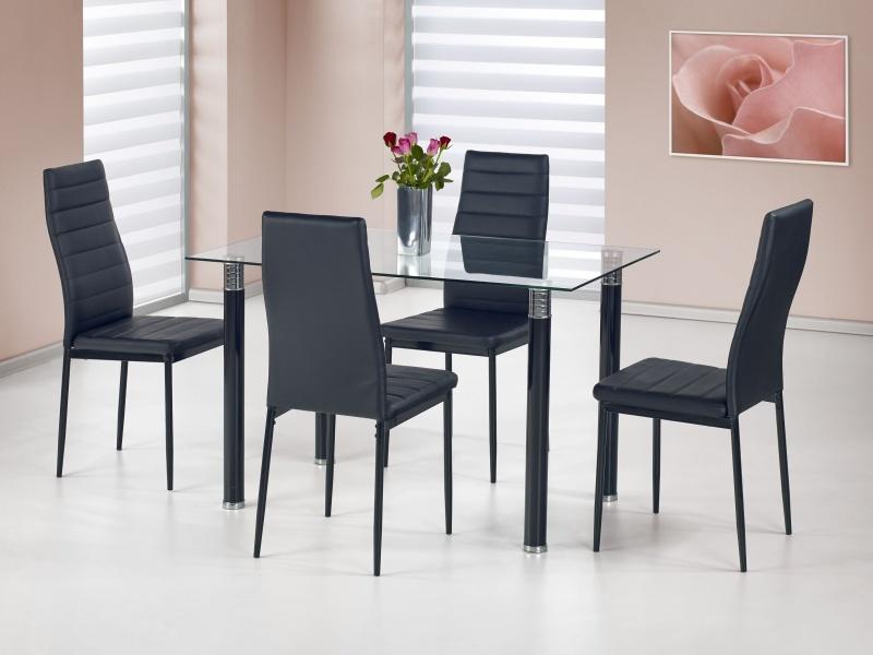 Halmar Jídelní stůl RUBENS, černý