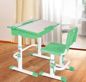 Halmar Dětský psací stůl a židle ASTRO 2, zelená