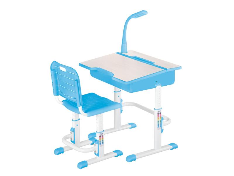 Halmar Dětský psací stůl a židle ASTRO 2, modrá