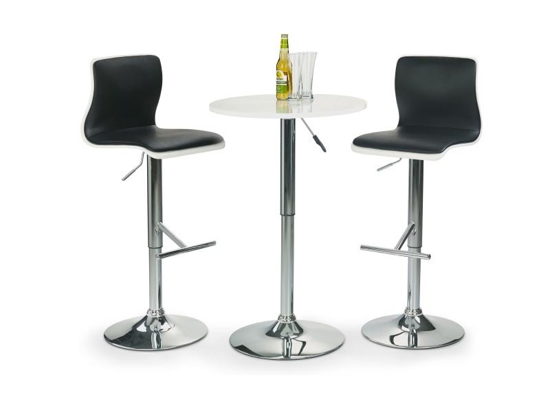 Halmar Barový stolek SB1, bilá