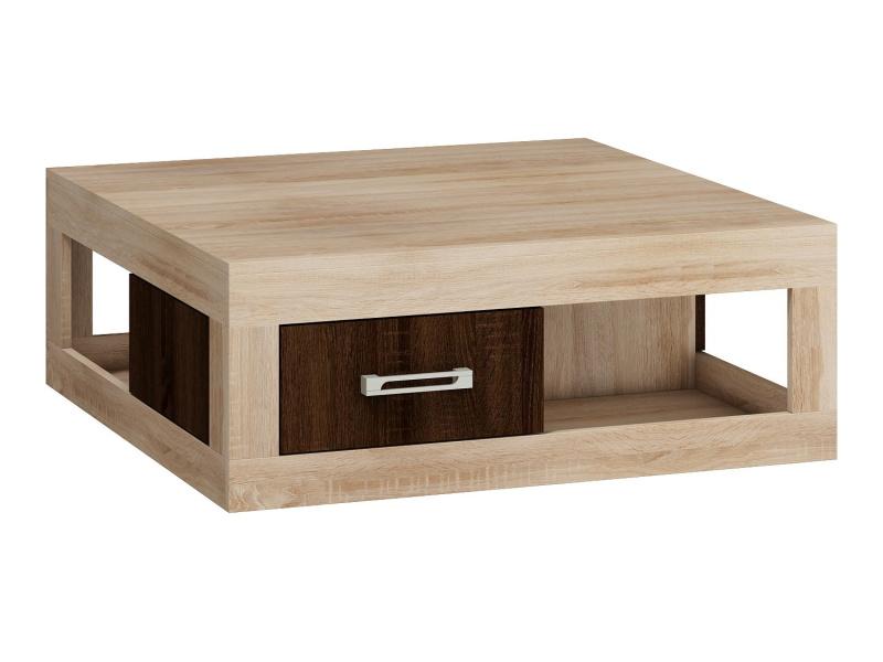 MORAVIA FLAT VERIN/02, konferenční stolek, dub sonoma/dub sonoma tmavý