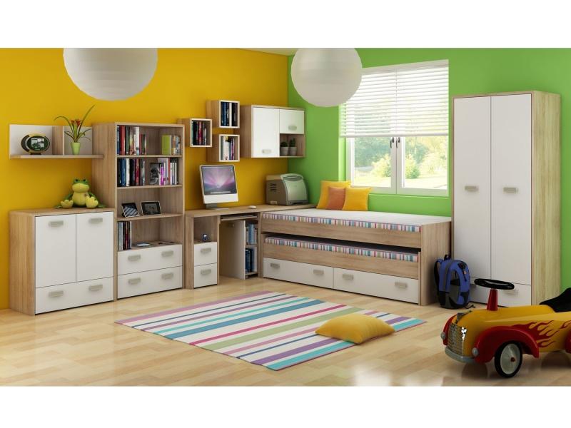 MORAVIA FLAT Dětský pokoj KITTY 1, barva: ...