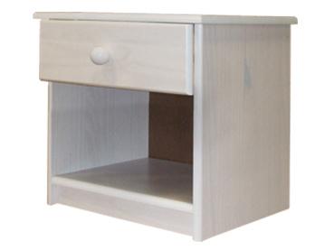 Idea Noční stolek 8812B, bílý