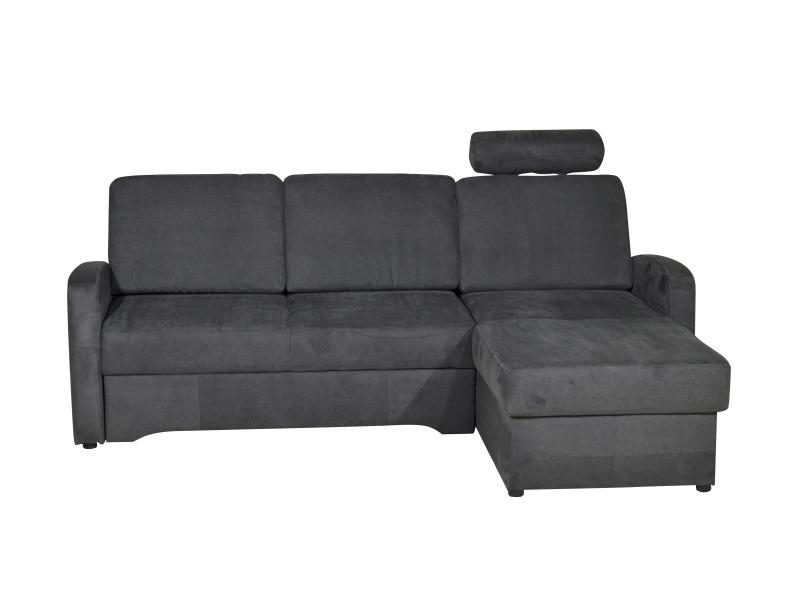 Aspol Rohová sedačka TOLEDO, grafitově šedá, pravá