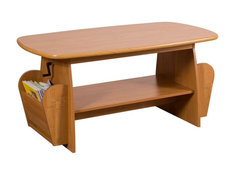 MORAVIA FLAT Konferenční stolek EMMA výškově nastavitelný, barva: