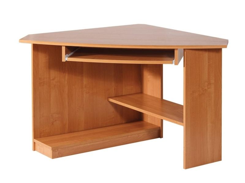 MORAVIA FLAT Rohový PC stůl CAREN, pravý, barva: