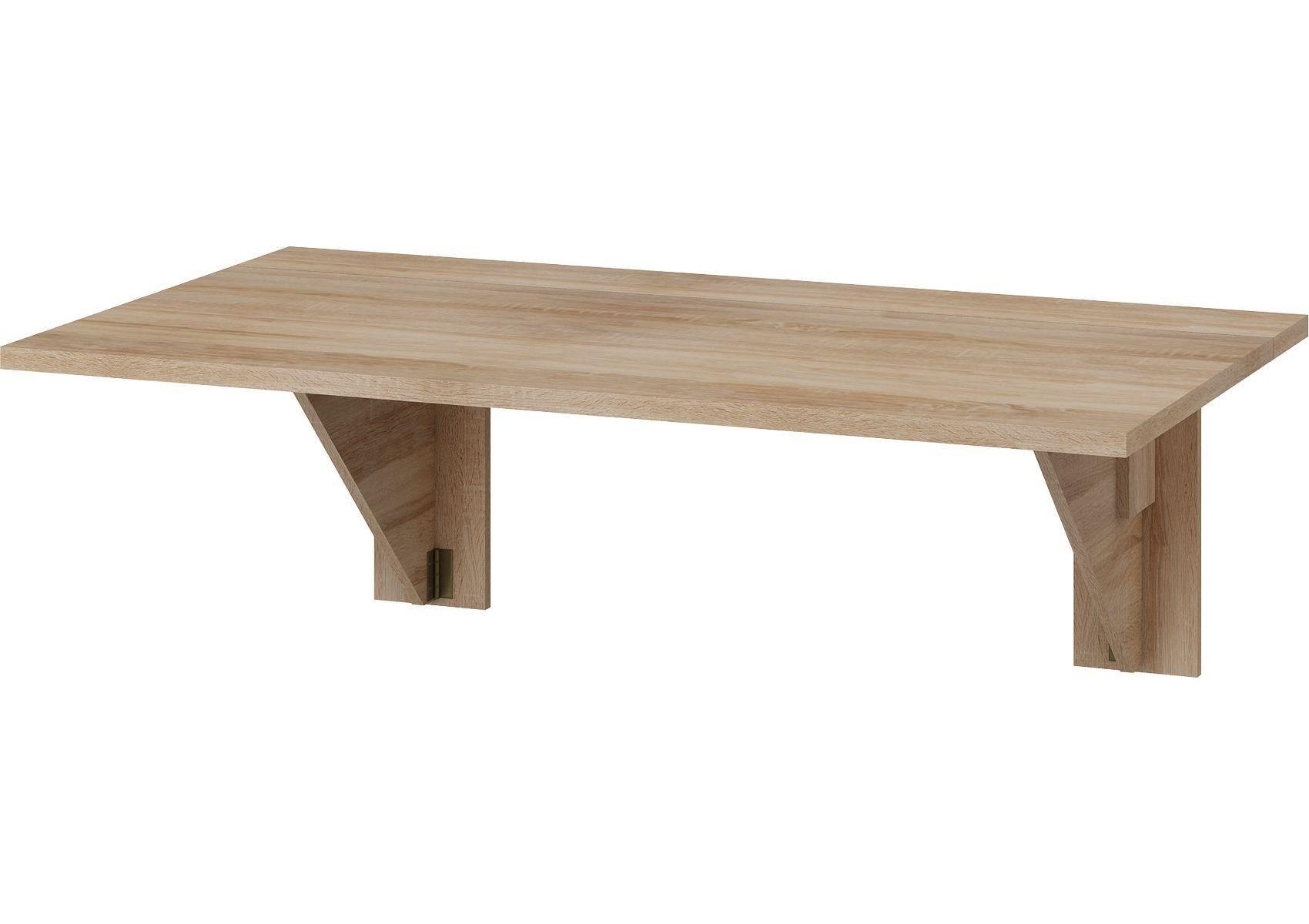 MORAVIA FLAT Skládací jídelní stůl EXPERT 9, dub sonoma
