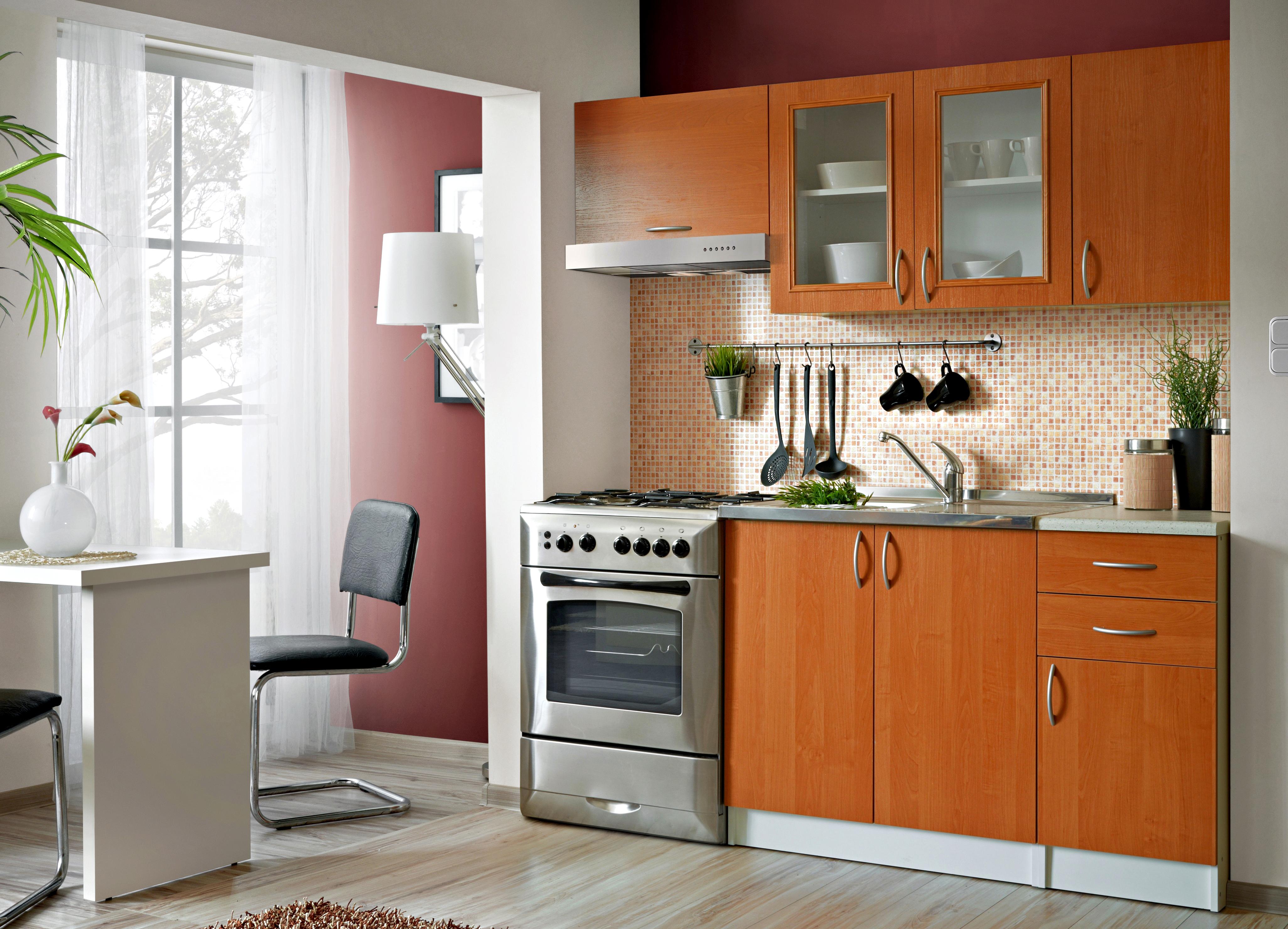 Smartshop Kuchyně JOLANA 120/180 cm, olše DOPRODEJ