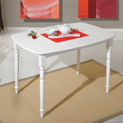 Idea Jídelní stůl Amsterdam, bílý lak