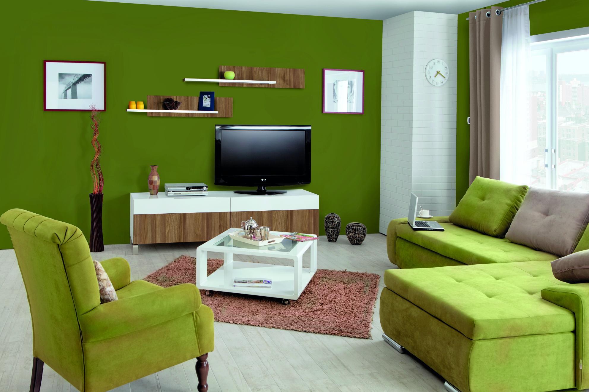 MATIS KVADRO, obývací stěna 2, ořech