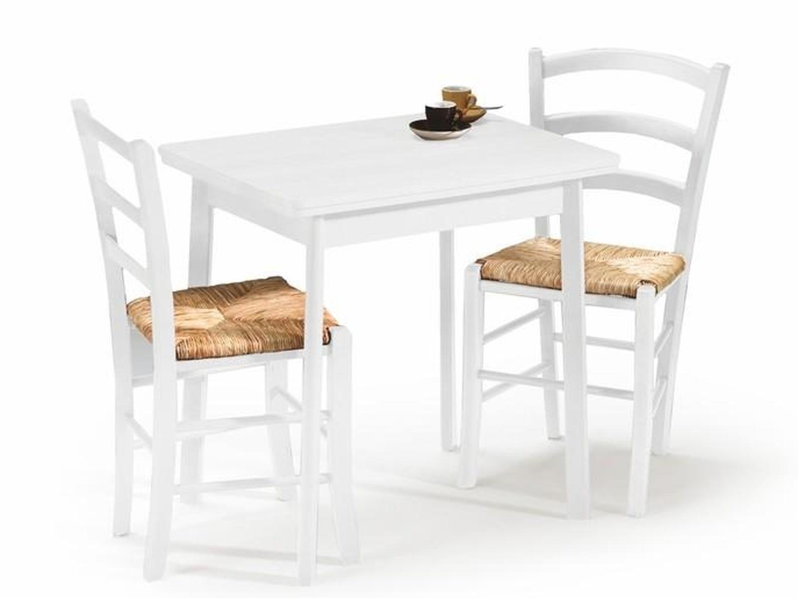 Halmar Jídelní stůl rozkládací ENTER, bílý