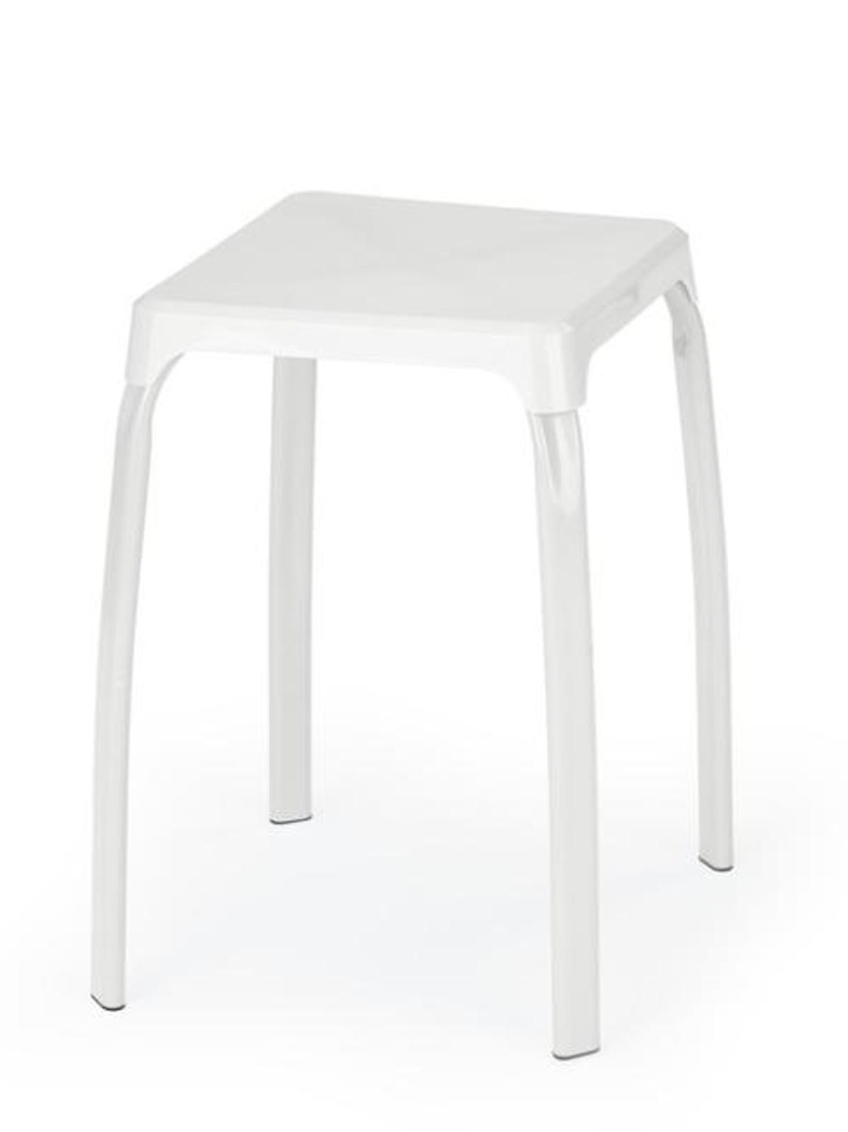 Halmar Stolička TICO, bílá