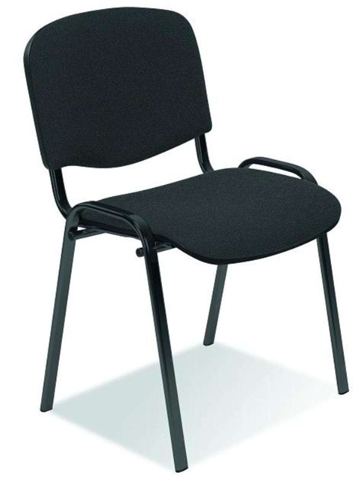 Halmar Konferenční židle ISO, tmavě šedá