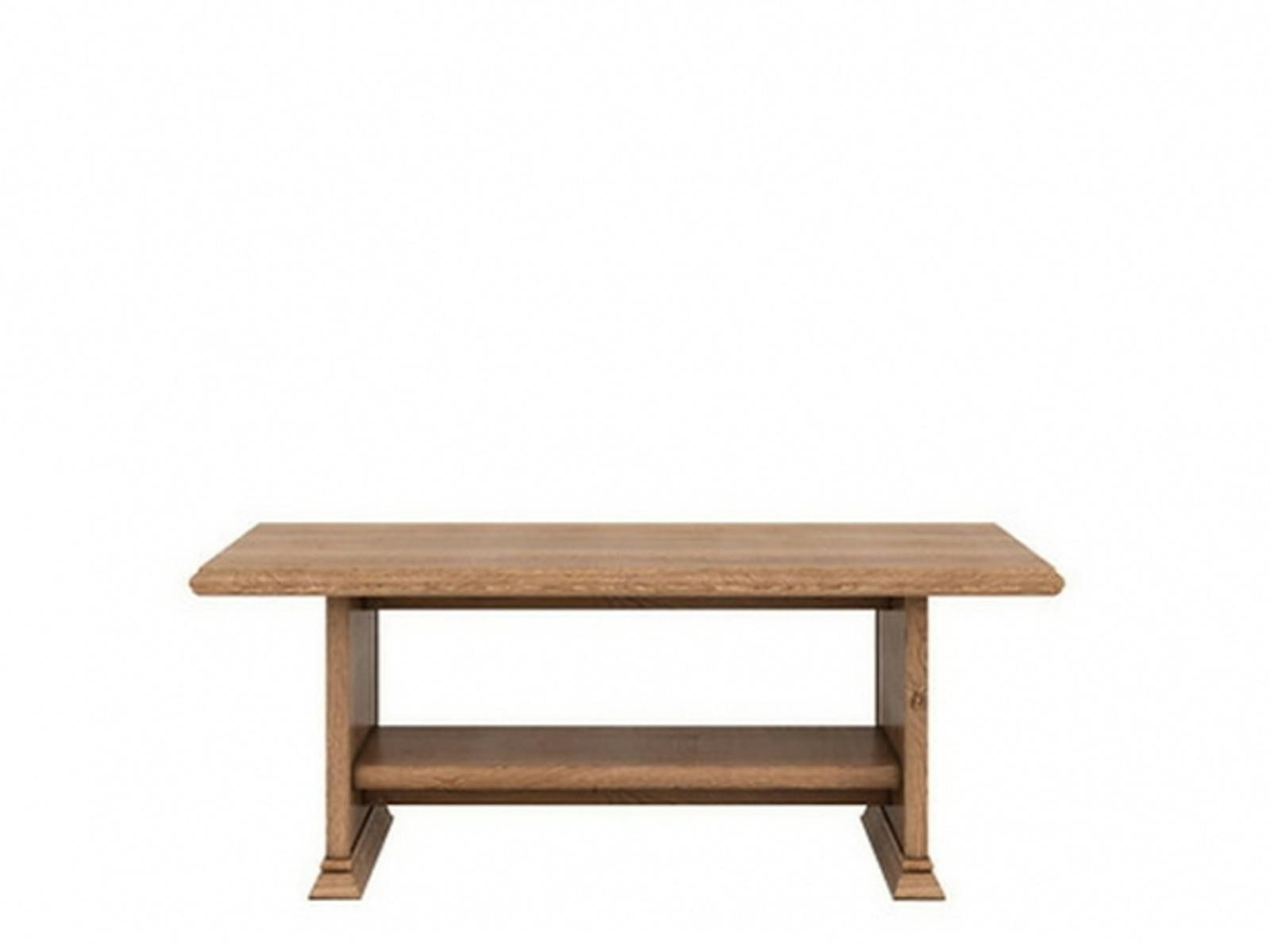 Black Red White KENT, konferenční stůl ELAW 130, dub amsterdam