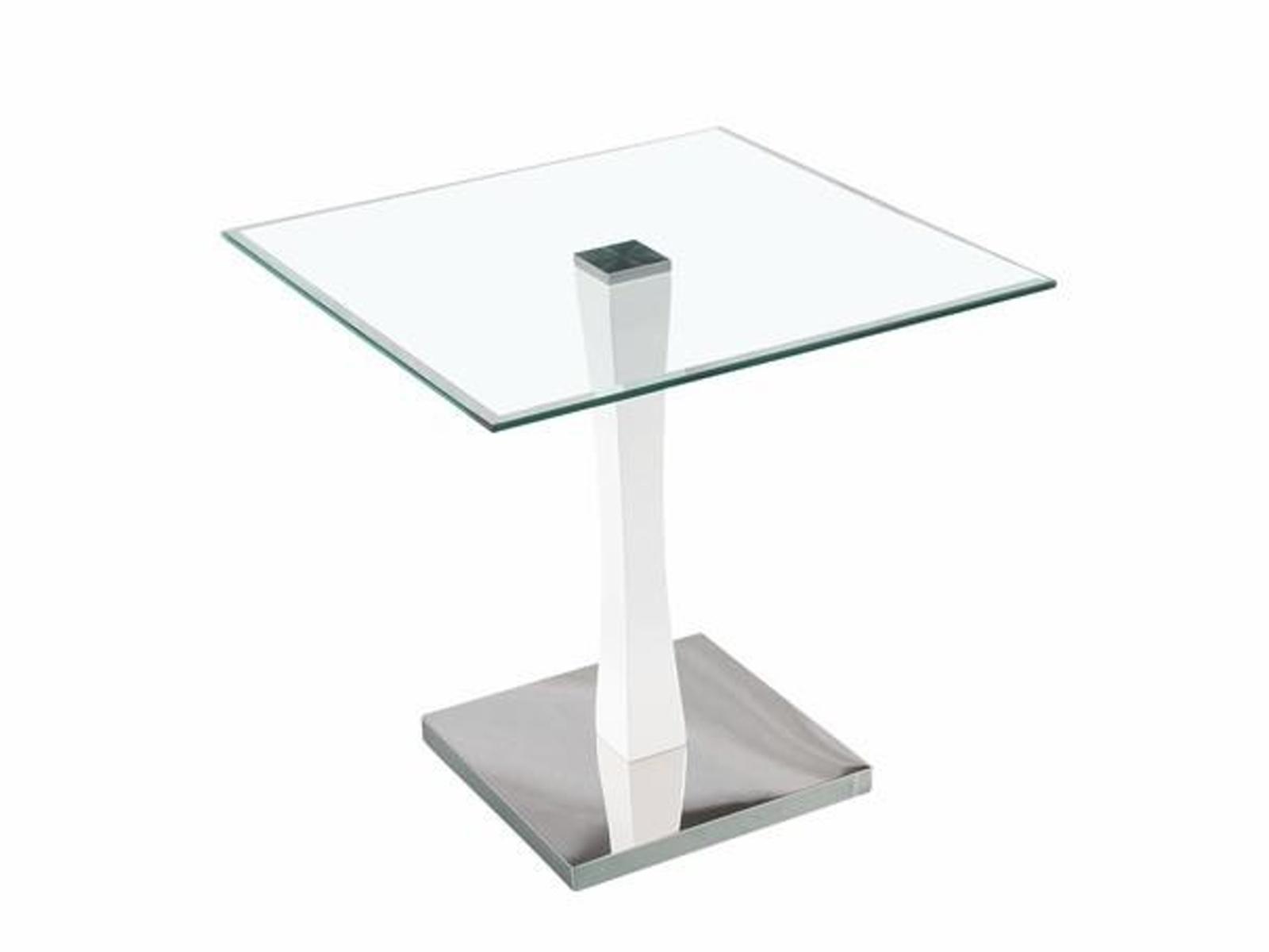 Halmar Konferenční stolek AFRODYTA, kov/sklo