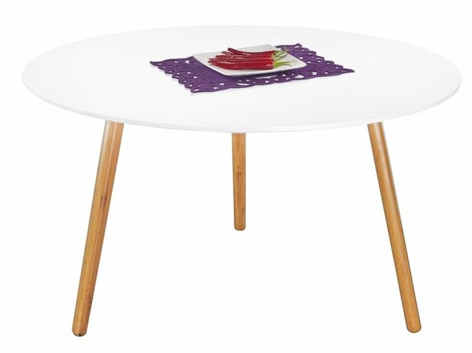 Halmar Konferenční stolek WINTER 3, bílý