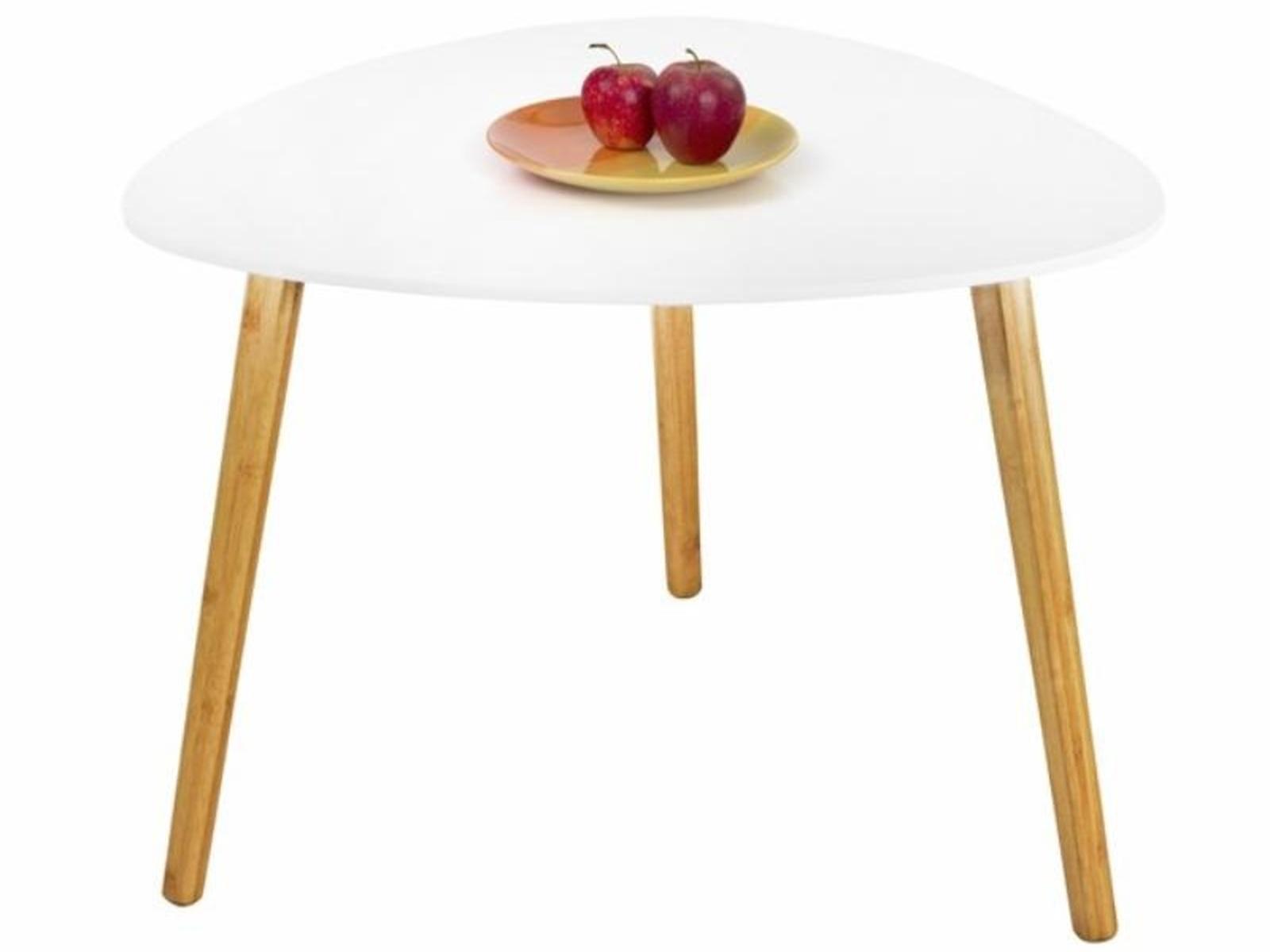 Halmar Konferenční stolek SUMMER 3, bílý