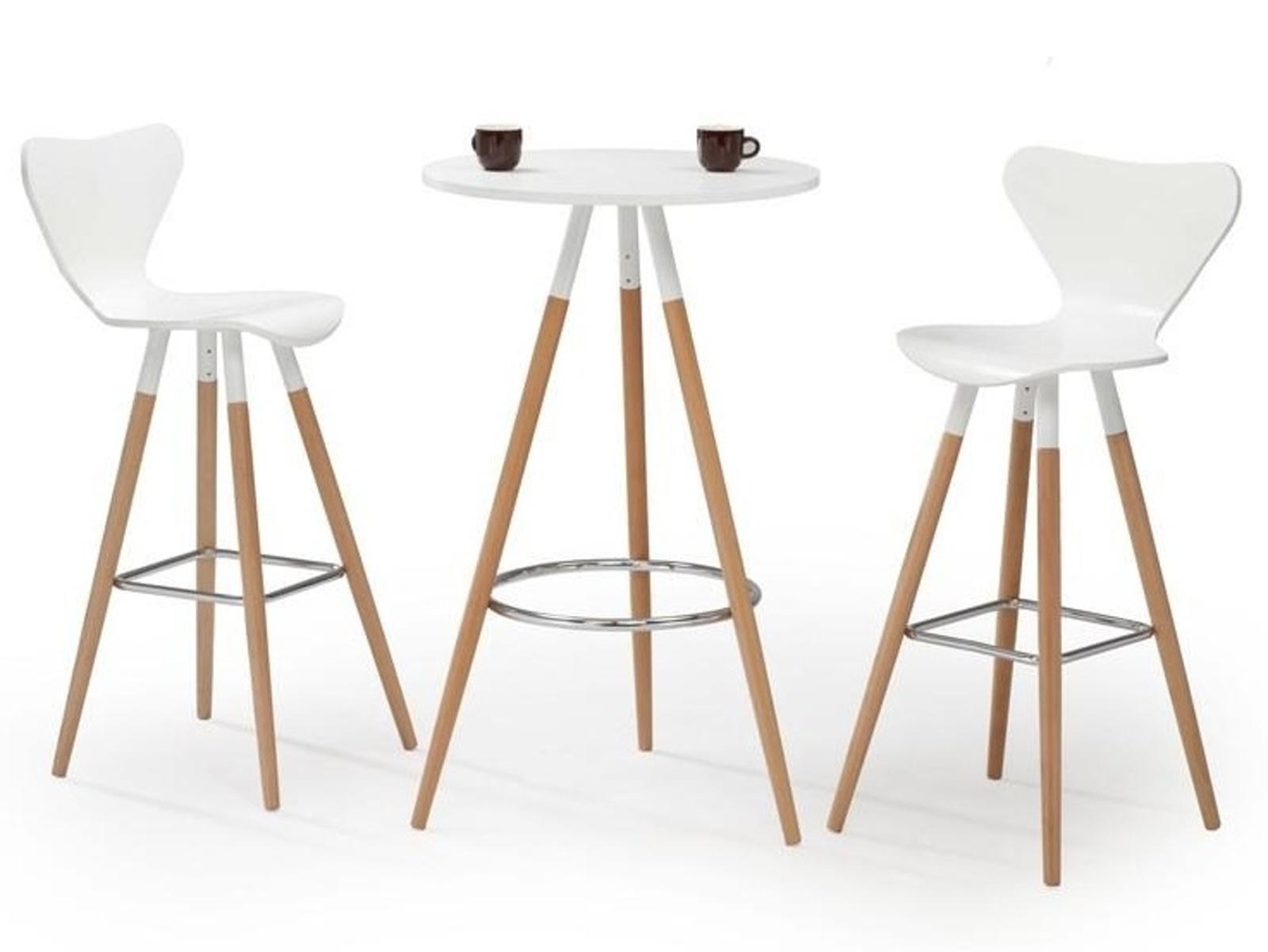 Halmar Barový stůl SB-7, bílý