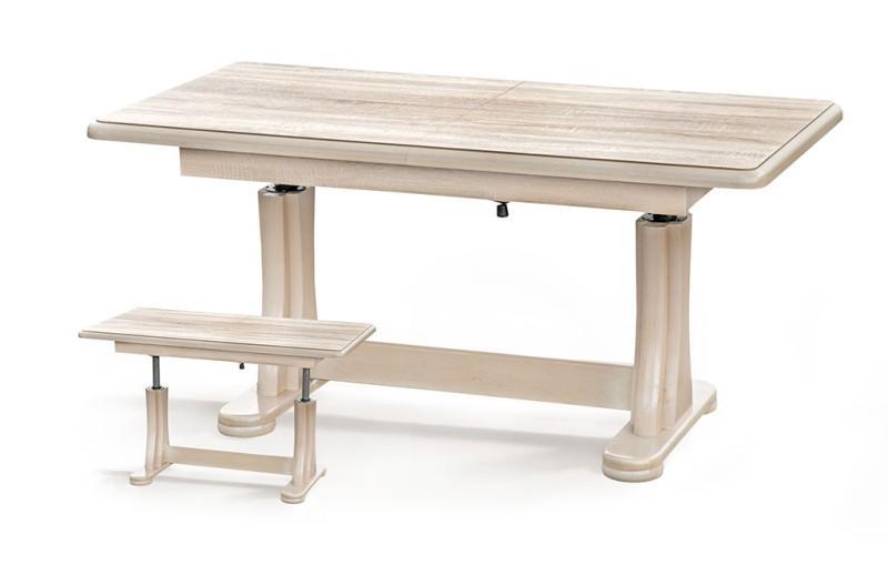 Halmar Konferenční stolek TYMON, dub sonoma